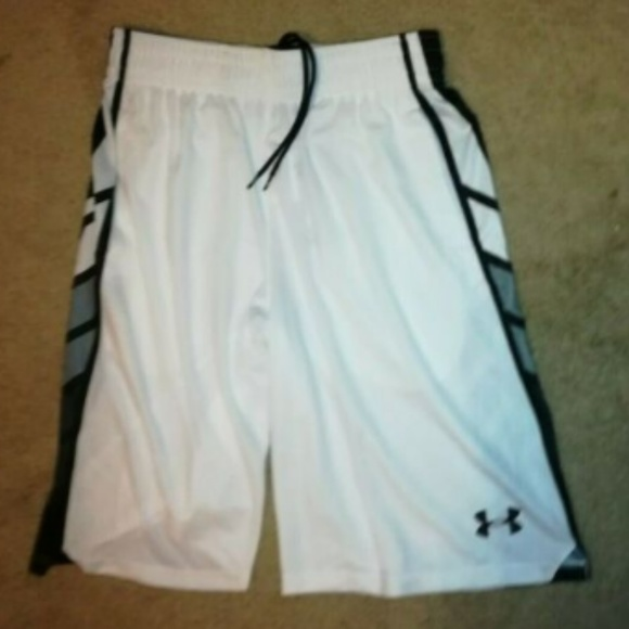Under Armour Other - NWT Under Armour White Select Basketball Shorts